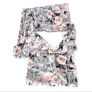 Jason WU Women's Sleepwear Floral Pajama Set - XL